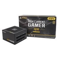 Antec High Current Gamer 650W Modular Power Supply 80 Plus Gold