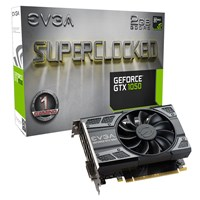 EVGA GeForce GTX 1050 2GB Superclocked Edition Boost Graphics Card
