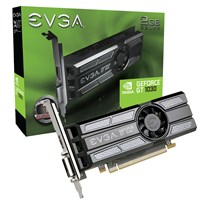 EVGA GeForce GT 1030 2GB Superclocked Edition Boost Graphics Card