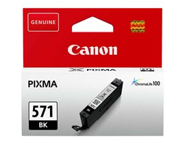 Canon CLI-571 Ink Cartridge - Black, 7ml (Yield 398 Photos)