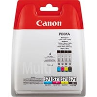 Canon CLI-571 BK/C/M/Y Ink Cartridge Multi Pack