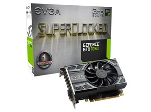 EVGA GeForce GTX 1050 SC GAMING (3GB) Overclocked Graphics Card