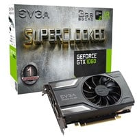 EVGA GeForce GTX 1060 3GB Superclocked Edition Boost Graphics Card