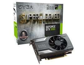 EVGA GeForce GTX 1060 SC 3GB Graphics Card