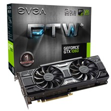EVGA GeForce GTX 1060 FTW GAMING ACX 3.0 3GB Card