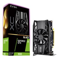 EVGA GeForce GTX 1650 4GB XC Black GAMING Boost Graphics Card
