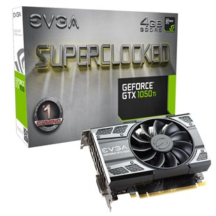 EVGA GeForce GTX 1050 Ti SC 4GB Graphics Card