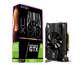 EVGA GeForce GTX 1660 Ti XC 6GB Graphics Card