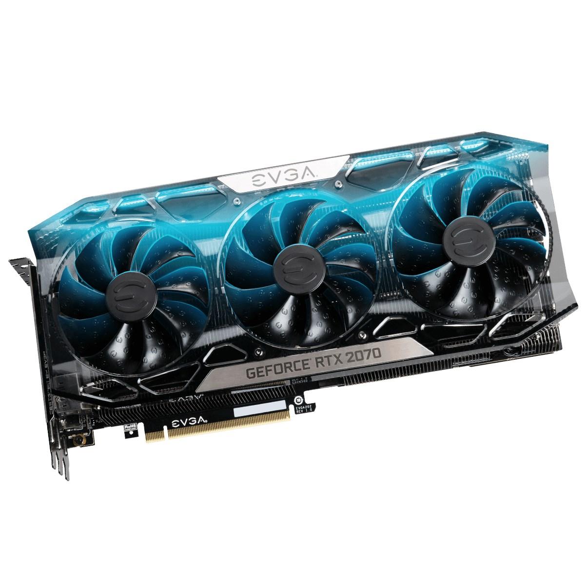 EVGA GeForce RTX 2070 8GB FTW3 Ultra Boost Graphics Card