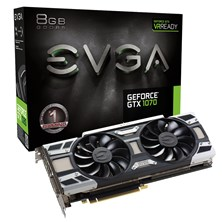 EVGA GeForce GTX 1070 ACX 3.0 8GB Graphics Card