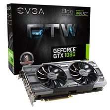 EVGA GeForce GTX 1080 FTW GAMING ACX 3.0 8GB Card