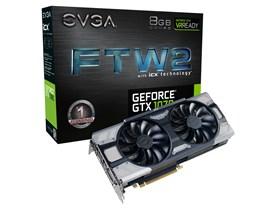EVGA GeForce GTX 1070 FTW2 8GB Graphics Card