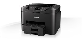 Canon MAXIFY MB2755 (A4) Colour Inkjet Multifunction Printer (Print/Copy/Scan/Fax) 7.5cm Touch Screen 24 ppm (Mono) 15.5 ppm (Colour) 20,000 (MDC)