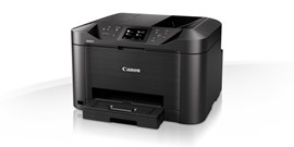 Canon MAXIFY MB5155 (A4) Colour Inkjet Multifunction Printer (Print/Copy/Scan/Fax) 8.8cm Colour Touch Screen 44 ppm (Mono) 15.5 ppm (Colour) 30,000 (MDC)