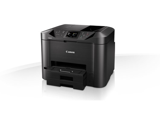 Canon MAXIFY MB5455 (A4) Colour Inkjet Multifunction Printer (Print/Copy/Scan/Fax) 8.8cm Colour Touch Screen 24 ppm (Mono) 15.5 ppm (Colour) 30,000 (MDC)