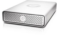 G-Technology G-DRIVE USB 4TB Desktop External Hard Drive in Silver