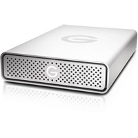 G-Technology G-DRIVE USB 10TB Desktop External Hard Drive in Silver