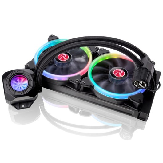 Raijintek Orcus RBW Addressable LED AIO Water Cooling Unit - 280mm