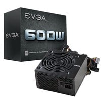 EVGA White 600W Power Supply 80 Plus