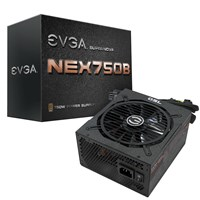 EVGA SuperNOVA NEX750B 750W Modular Power Supply 80 Plus Bronze
