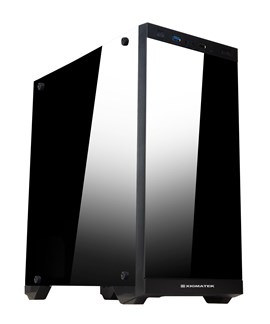 Xigmatek Scorpio Mid Tower Gaming Case - Black