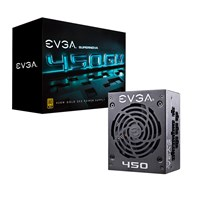 EVGA SuperNOVA 450 GM 450W Modular Power Supply 80 Plus Gold