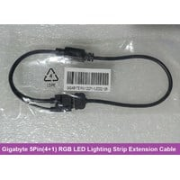 Gigabyte 5-Pin (4+1) RGBW LED Lighting Strip Extension Cable