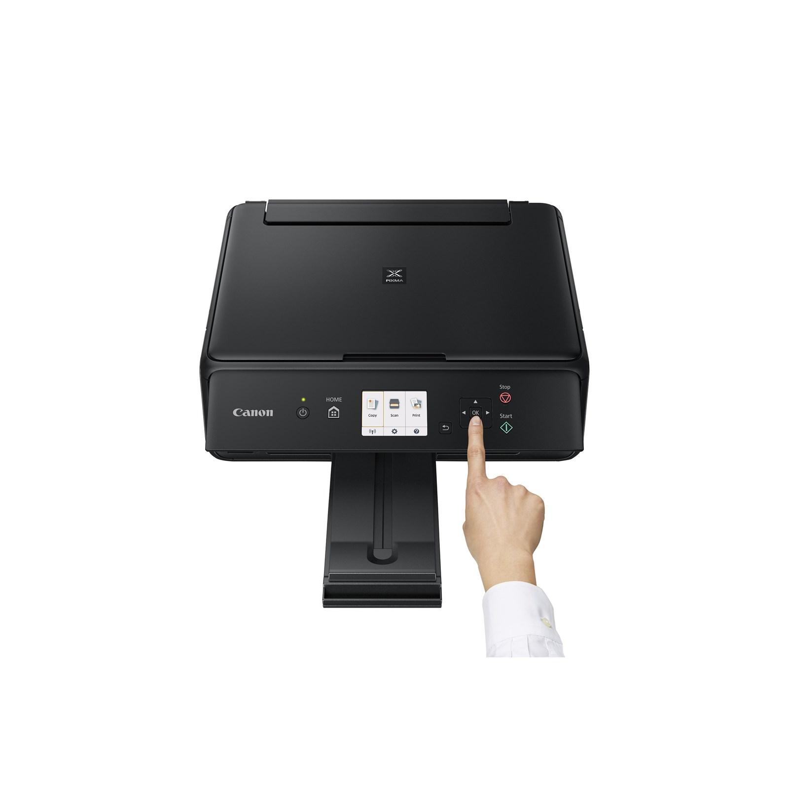 Canon Pixma Ts5050 A4 Colour Inkjet Multifunction Printer Print Hp Officejet 7110 Web Wifi Copy Scan