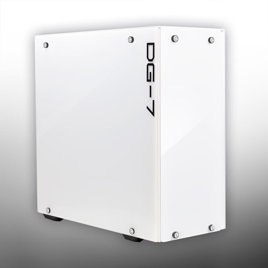 EVGA DG-75 Mid Tower Gaming Case - White