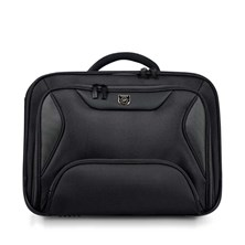 Port Designs Manhattan Clamshell Laptop Case (Black) for 15.6 inch Laptop