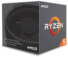 AMD Ryzen 5 (1400) 3.2GHz Processor 8MB L3 Cache (Boxed)
