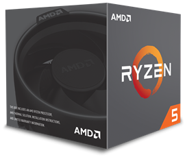 AMD Ryzen 5 (1400) 3.2GHz Processor 8MB L3 Cache (Boxed) *Open Box*