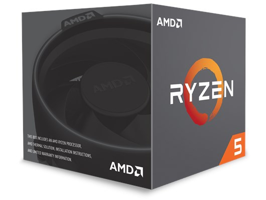 AMD Ryzen 5 1600 3.2GHz Hexa Core (Socket AM4) CPU