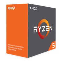 AMD Ryzen 5 1600X 3.6GHz Hexa Core AM4 CPU