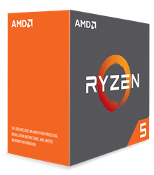 AMD Ryzen 5 (1600X) 3.6GHz Processor 16MB L3 Cache (PIB)