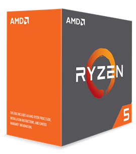 AMD Ryzen 5 1600X 3.6GHz Hexa Core (Socket AM4)