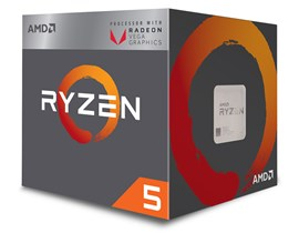 AMD Ryzen 5 2400G 3.6GHz Quad Core CPU