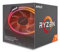 AMD Ryzen 7 2700X (3.7GHz) Processor 8 Core 16MB L3 Cache (Boxed) *Open Box*