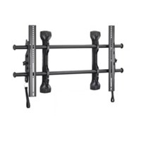 Chief LTMU FUSION Universal Flat Panel Micro-Adjustable Tilt Wall Mount (37-63 inch Displays) - Black