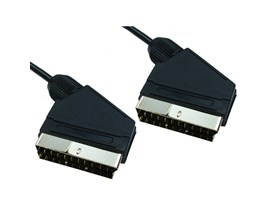Cables Direct 1.5m SCART to SCART Cable