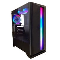 1st Player R6 Mid Tower Case - Black USB 3.0