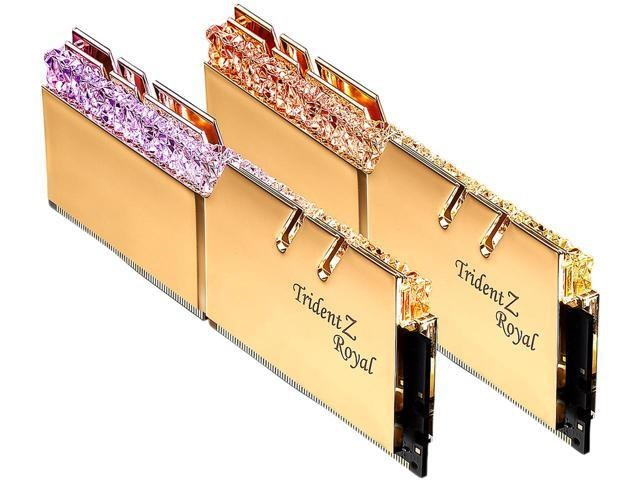 G Skill Trident Z Royal 16GB (2x8GB) 3200MHz DDR4 Memory Kit