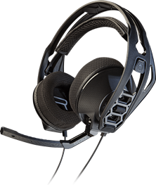 Plantronics RIG 500HX Stereo Headset (Black) with Microphone for Xbox One