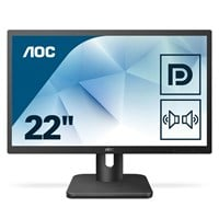 AOC 22E1Q 21.5 inch LED Monitor - Full HD, 5ms, Speakers, HDMI