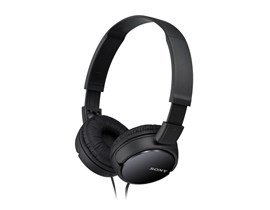 Sony MDR-ZX100 Overhead Headphones Black 1.2m flat Cord