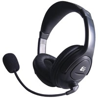 Generic Stereo Headset with Mic in Black