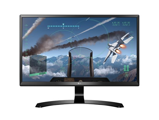 "LG 24UD58 24"" 4K Ultra HD LED IPS Monitor"