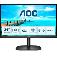 AOC 24B2XDAM 23.8 inch Monitor - Full HD, 4ms, Speakers, HDMI, DVI