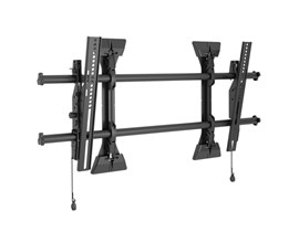 Large Fusion Micro-Adjustable Tilt Wall Mount for screen sizes typically 37-80""