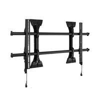 Large Fusion Micro-Adjustable Fixed Wall Display Mount 37 Black